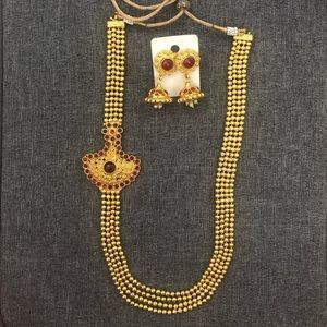 Jewelry - Traditional Indian long necklace.